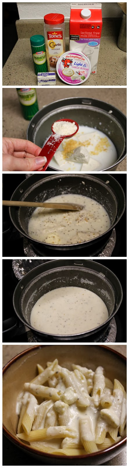 Laughing Cow Alfredo Sauce