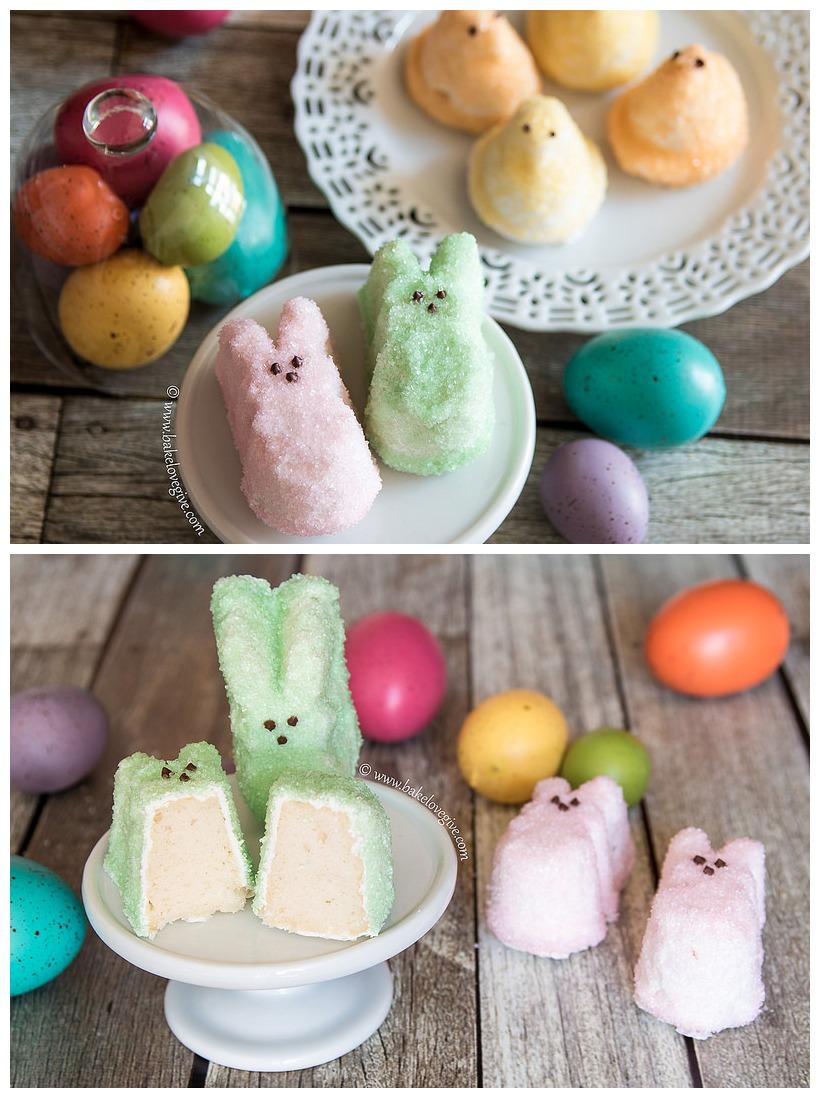 Mini Peeps Cakes