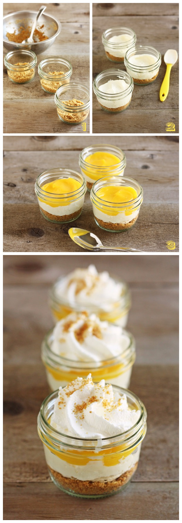 No-Bake Lemon Cheese Cake Recipe
