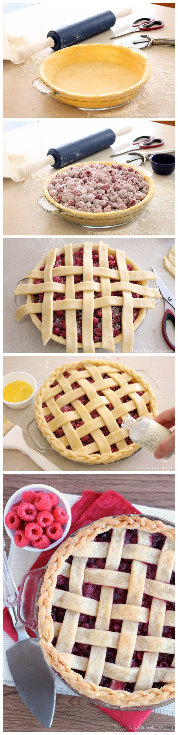 Lattice Pie Crust Tutorial